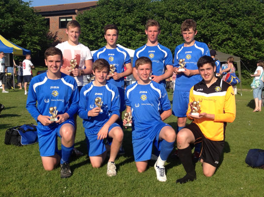 Liphook Tournament 2012 Under 15s winners: Liphook City