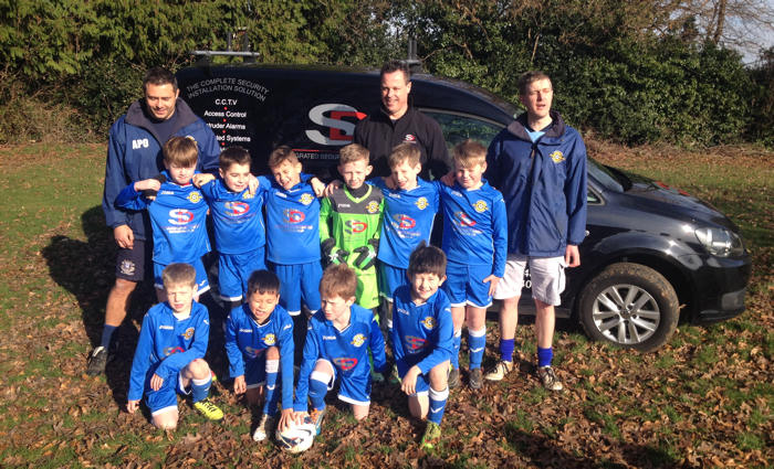 Liphook Huskies in their new strip